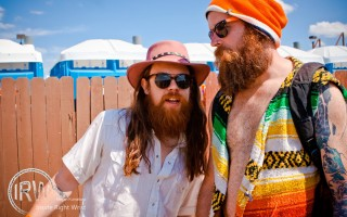 Grouplove's Sean Gadd with Sasquatch Folk