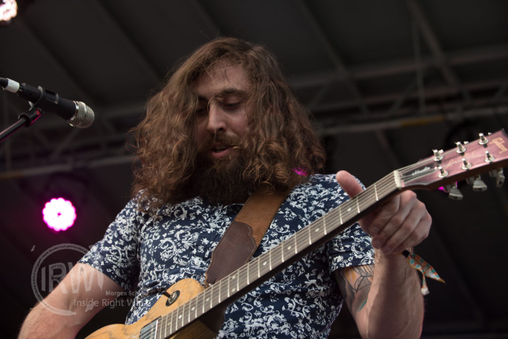 Ryan Granger of The Grizzled Mighty performs at Bumbershoot festival on September 7, 2015 in Seattle, Washington