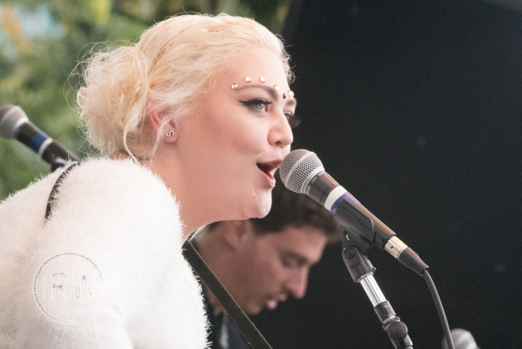 Elle King performs at Bumbershoot festival on September 5, 2015 in Seattle, Washington