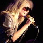 Mette Lindberg of The Asteroids Galaxy Tour