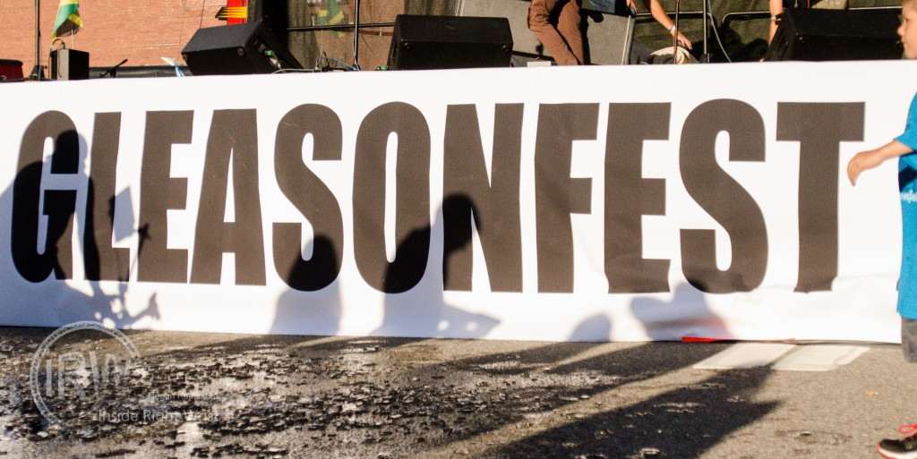 Gleason Fest supporting the ALS Ice Bucket Challenge
