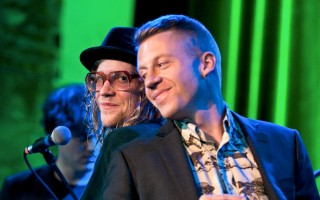 Allen Stone and Macklemore at the Neptune