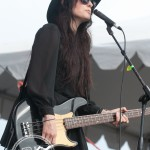 Dum Dum Girls at Sasquatch courtesy KEXP