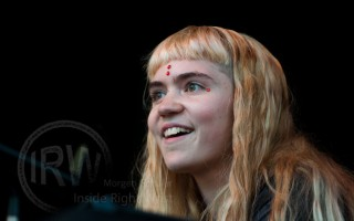 Grimes on the Mainstage Capitol Hill Block Party