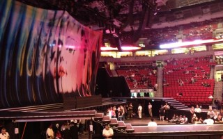 Madonna backdrop