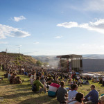 Main stage at Sasquatch 2015